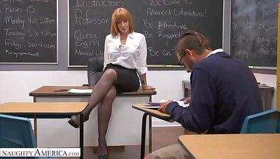 Prof. Sara Harlequin gives student her big ass!