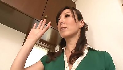 Asian busty milf doggy style by a black dude