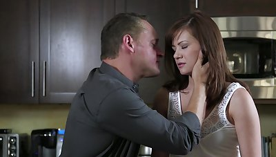 Hot Alison Rey's awesome socialistic pussy engages in the plunge