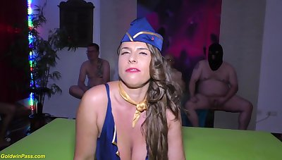 chesty stewardess luxurious susi fatiguing assfuck soiree humped