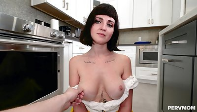 Tattooed slut Jane Dove teases up her pussy and gets fucked