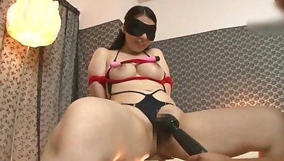 BDSM fetish video with maledom over slutty Minatsuki Chihiro