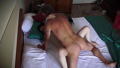 Senior men takes his pill and fucks Vera big time