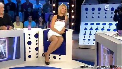 Just public program added to crestfallen blonde nympho more nice legs added to booty