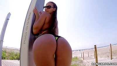 Amirah Adara In Rough Alfresco Butt Copulating