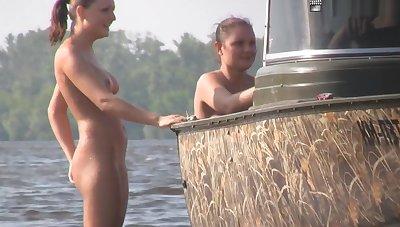 Nudist Beach Teasing 02