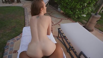 Join down in the mouth Karla Kush by the pool for a gratifying POV fuck