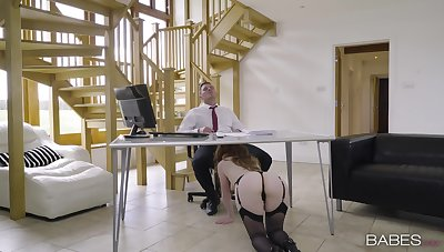 Office penman sucks dick added to gets laid for a big raise