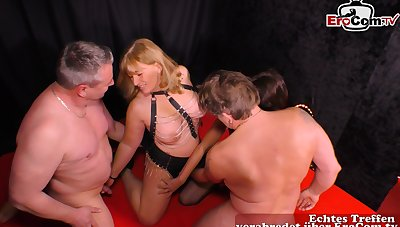 German amateur homemade swinger orgy