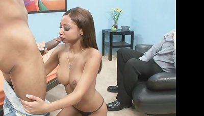 Wild fucking greater than the bed for a cuckold husband - Angel Cummings