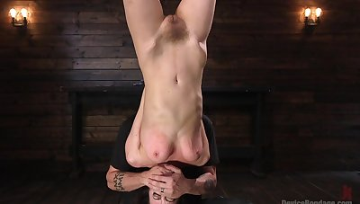 Pornstar Cherry Torn loves being tied up and fucked hard. HD