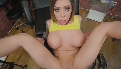 Naughty gripe needs both be expeditious for her holes be full