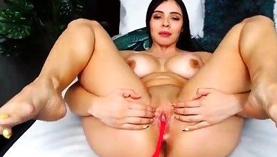 Amateur Webcam Babes Sliding Solo