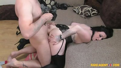 A Gnaw Of Cock Be required of Rude Brunette